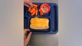 Minnesota student's questionable school lunch post goes viral: 'Sad excuse for a meal'