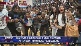 Thornridge High School turns up the energy for Pep Rally Friday