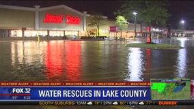 Flash flood warning in effect across north suburbs