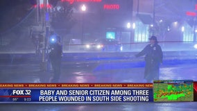 Baby, 2 men wounded in shooting on Chicago's South Side