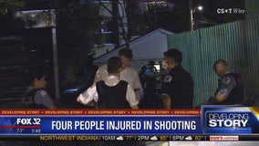 4 shot in West Town