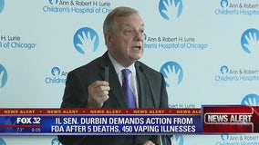 Senator Durbin urges improved regulation of vaping industry