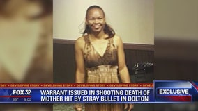 Warrant issued for suspect in shooting death of Dolton mom driving with her kids