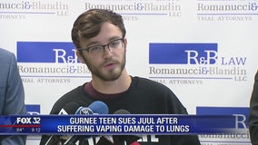Illinois lawsuit filed against top e-cigarette maker Juul