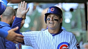 Rizzo's grand slam among 5 Cubs homers, Chicago rips Bucs 17-8