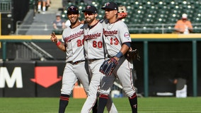 Slugging Twins set road HR record in 10-5 rout of White Sox