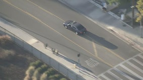 Suspect surrenders after police chase in Pacoima, Sun Valley area