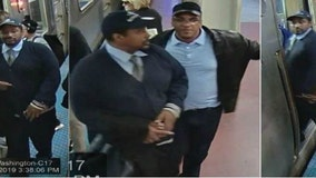 Two men wanted for pickpocketing Blue Line commuters