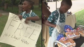 Boy donates savings for Disney trip to buy food for Hurricane Dorian evacuees