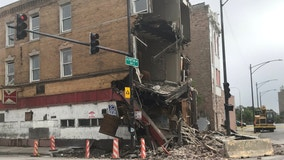 Man hurt in building collapse at Lawndale construction site
