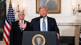 President Trump says gun bill negotiations going 'very slowly'