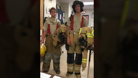 Florida students walk up more than 100 flights of stairs to honor victims of 9/11