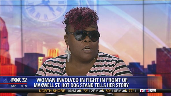 Victim in fight outside Chicago hot dog stand speaks out