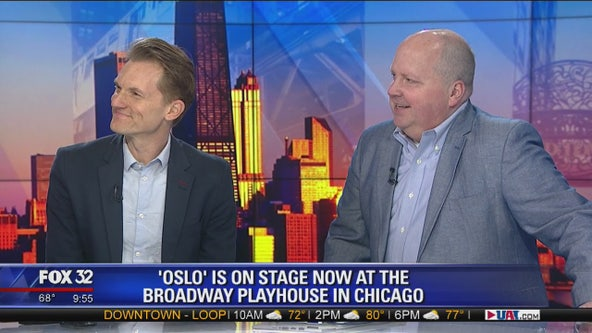 'Oslo' now playing at Broadway Playhouse
