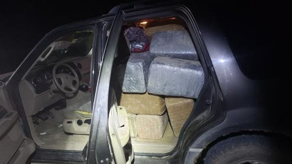 Sheriff: Abandoned SUV in Texas had 1,127 pounds of marijuana inside, driver left wallet in vehicle