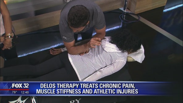 Delos Therapy specializes in pain treatment and solving muscle stiffness