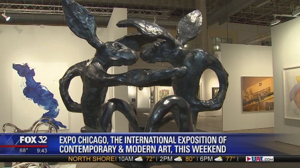 Art of all creeds, places on display at EXPO Chicago this weekend