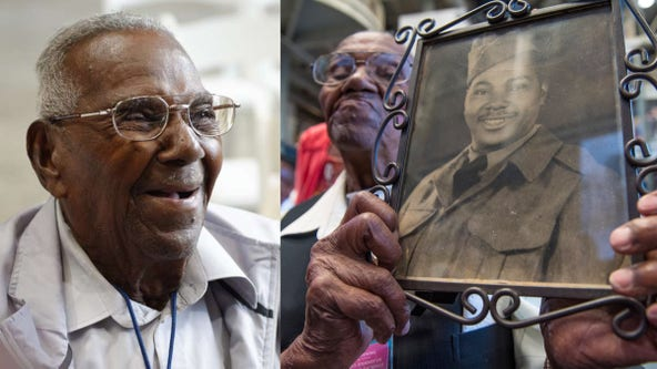 Oldest living WWII veteran celebrates 110th birthday in New Orleans