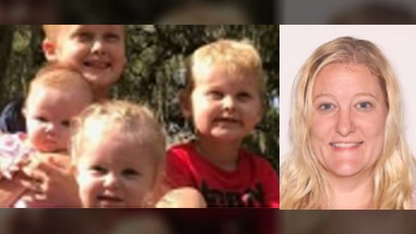 Body of missing mother found, search continues for her four missing children