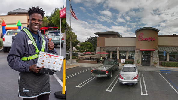 Chick-fil-A employee hailed a hero for saving a man's life: 'God placed me' there