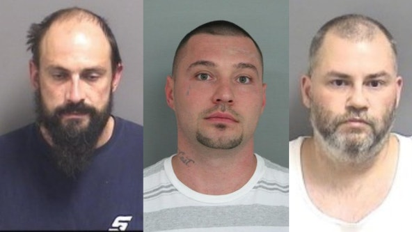 2 arrested, 1 wanted for cutting through walls of Orland Park Best Buy to steal laptops: police