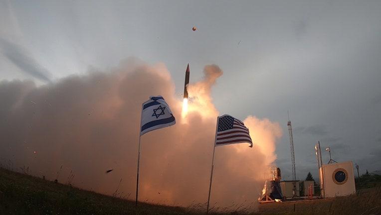 c4e09217-Israel missile test over Kodiak, Alaska