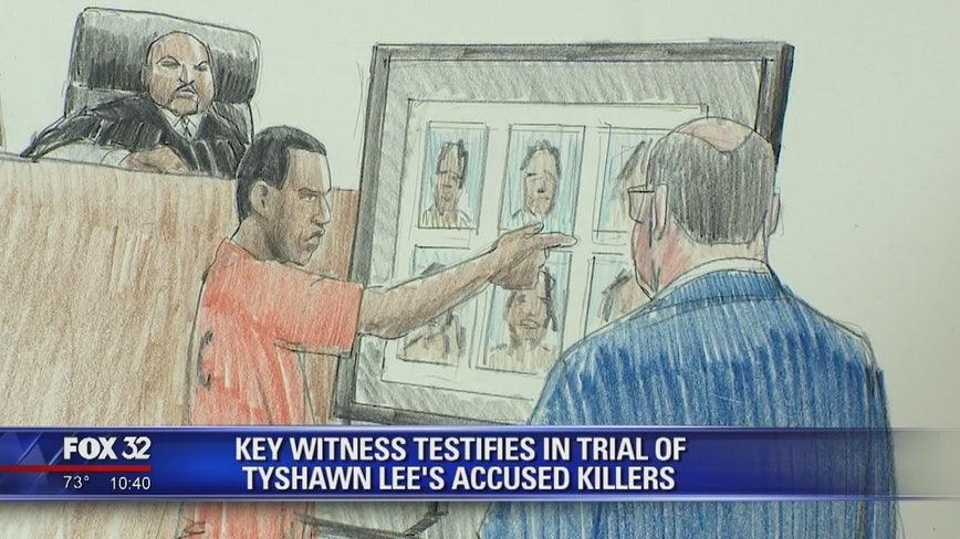 Witness testifies in trial of Tyshawn Lee's accused killers
