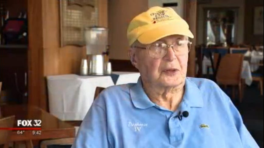 102-year-old Chicago man thrives on love of sailing