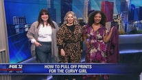 How to pull off prints for the curvy girl