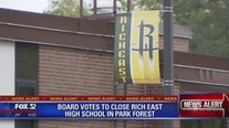 Board votes to close Rich East High School in Park Forest