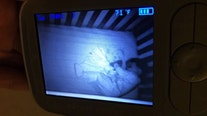 'Ghost baby': Mom freaks out over what she sees on baby monitor