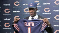 Former Bear Leonard Floyd looking forward to facing Chicago after team let him go