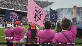 """Bears partner with Advocate Health Care for 2019 """"Real Bears Fans Wear Pink"""""""