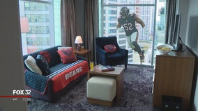 Chicago hotel unveils 'Ultimate Bears Suite'
