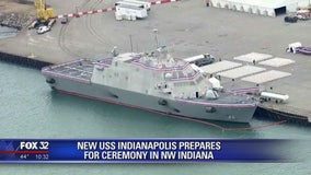New USS Indianapolis prepares for ceremony this weekend in NW Indiana