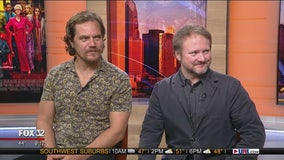 Rian Johnson, Michael Shannon talk new film 'Knives Out'
