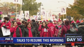Chicago teachers strike cancels classes for 10th day, but glimmer of hope for HS teams