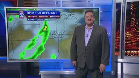 9 p.m. forecast for Chicagoland on Oct. 18