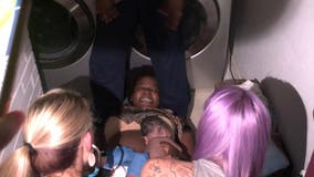 Baby girl born in Rowlett laundry room during Sunday night's tornado