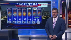 Chicagoland 10 p.m. weather: Oct. 14, 2019