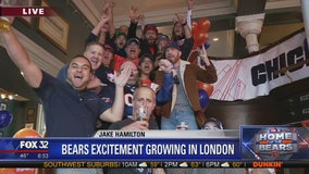 Bears fans take over London ahead of Sunday's game