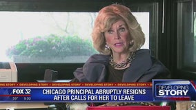 Chicago principal abruptly resigns after calls for her to be removed
