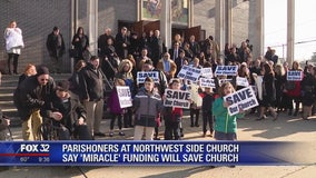 Parishioners on Northwest Side say 'miracle' funding will save church
