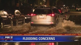Flash floods swamp North Side roadways, close Lake Shore Drive during overnight storms