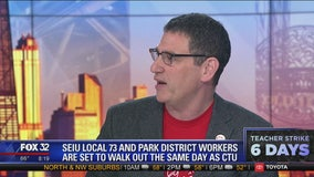 CTU's Jesse Sharkey talks about potential teachers strike