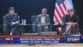Mayor holds final town hall on budget crisis as huge tax hikes loom