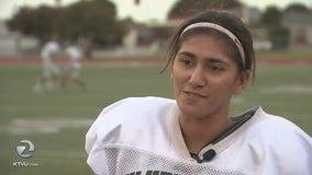San Jose high-school senior first female player to throw touchdown pass