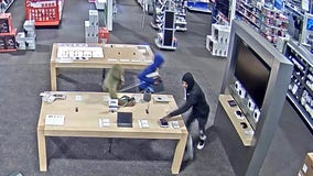 Smash-and-grab burglars hit Gurnee Best Buy: police
