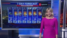 Chicagoland 10 p.m. weather: Oct. 21, 2019
