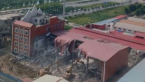 Chinese authorities raided church, forcibly removed members, moments before demolition